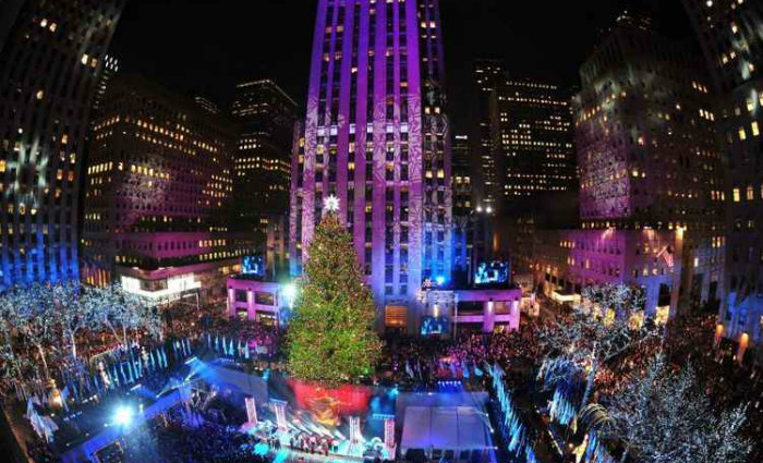 Árvore do Rockefeller Center é sempre procurada no fim de ano. Foto: Stan Honda/AFP Photo (Árvore do Rockefeller Center é sempre procurada no fim de ano. Foto: Stan Honda/AFP Photo)