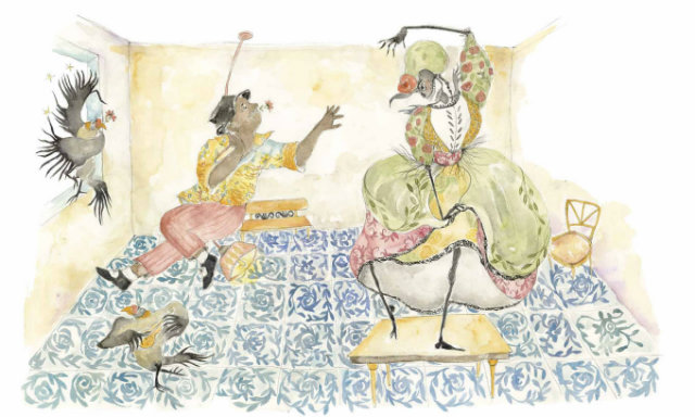Na história, Seu Bio e a Morte dançam em par ao som do samba. Foto: Arquivo pessoal/Divulgação