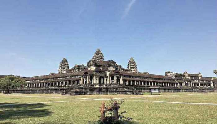 Angkor Wat, no Camboja. Foto: Bertha Maarakoun/EM/D.A Press (Angkor Wat, no Camboja. Foto: Bertha Maarakoun/EM/D.A Press)