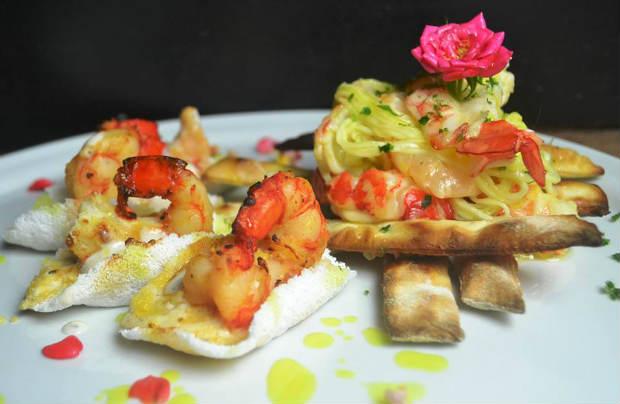 Camarão gratinado ao forno, do restaurante Kojima, é um dos pratos presentes no festival gastronômico. Foto: Kojima/Divulgação