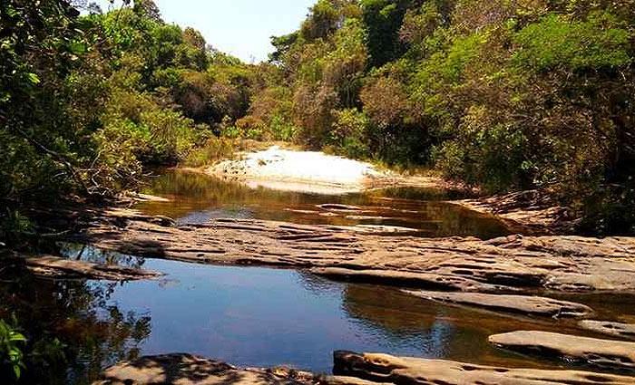 O clima sossegado atrai visitantes que gostam de contato direto com a natureza, além de esportistas, que praticam trilhas e rapel. Foto: Júlio Resende/CB/D.A Press