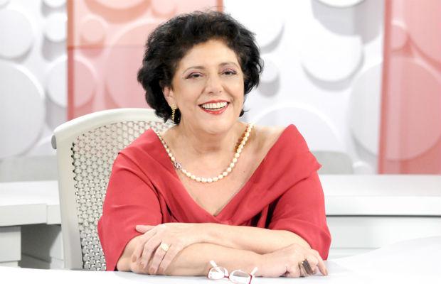 Leda Nagle apresentou o programa por 21 anos. TV Brasil/Reprodução