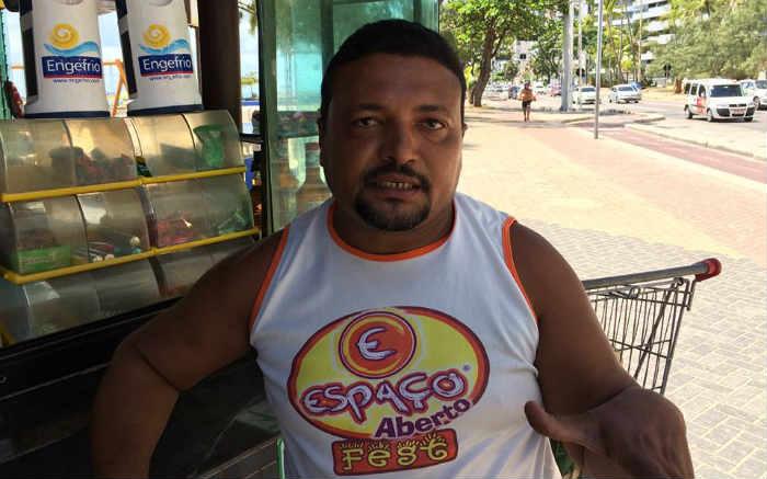Cristiano José Santos acredita que a PM é mais preparada para lidar com as ocorrências comuns da cidade, como assaltos. Foto: Henrique Souza/Esp. DP