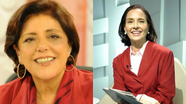 Vera Barroso entrará no lugar de Leda Nagle, que comandou o Sem Censura por 20 anos. Fotos: Agência Brasil/Reprodução
