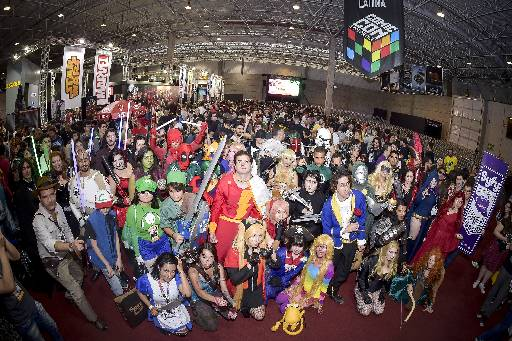 Feira atrai centenas de interessados na cultura geek. Foto: Gustavo Scatena/Imagem Paulista Fotografia
