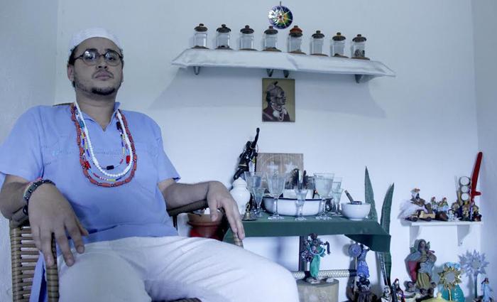 Edson de Omolu está na Umbanda desde que nasceu. Foto: Shilton Araújo/ESp DP