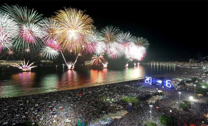 A capital carioca deve receber 865 mil turistas no período do réveillon. Foto: Fernando Maia/ Riotur