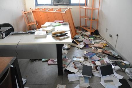 Resultado de imagem para UFPE danos ao patrimônio e furtos