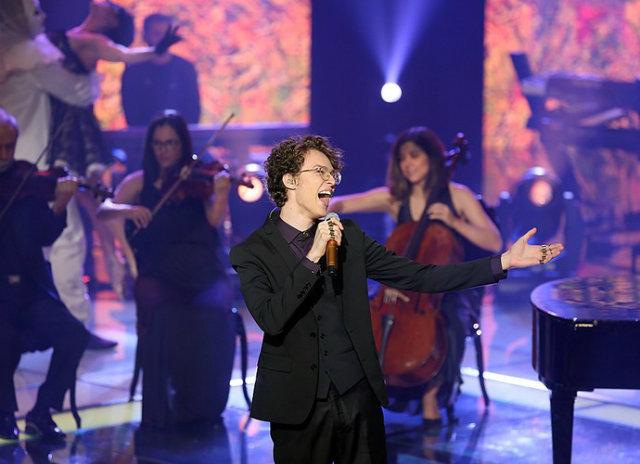 Cantor recifense chegou à final do The Voice Brasil em 2015. Foto: Isabella Pinheiros/Gshow