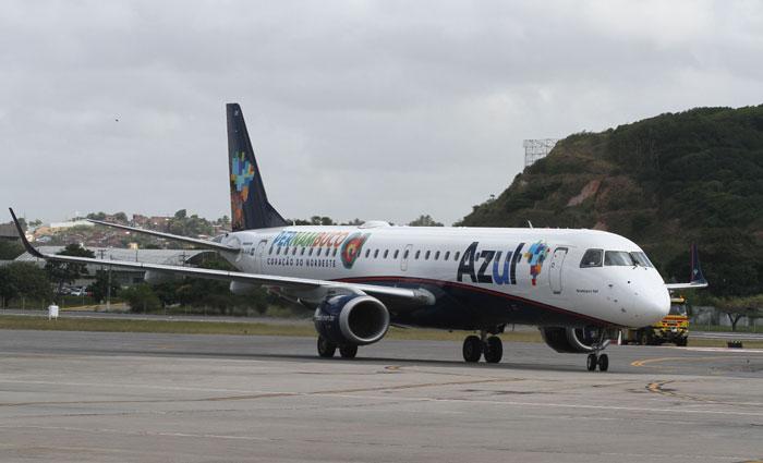 O planejamento do estado e da companhia é que a principal cidade do Sertão do Pajeú tenha um voo diário conectado ao Recife. Foto: Julio Jacobina/DP