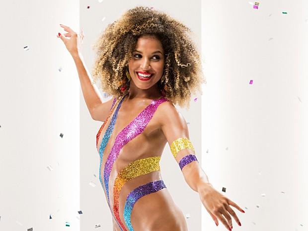 Performances de Erika Moura homenageará ritmos marcantes do carnaval brasileiro. Foto: Globo/Reprodução