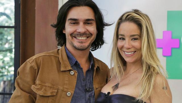 Briga começou quando o jornalista acusou Danielle de fingir gravidez para ter atendimento prioritário em aeroporto. Foto: Rede Globo/Reprodução