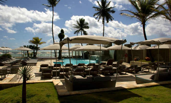 Antigo Dorisol, localizado em Piedade, foi rebatizado como Wydham Garden Recife. Foto: Divulgação/Nobile Hotéis (Foto: Divulgação/Nobile Hotéis)