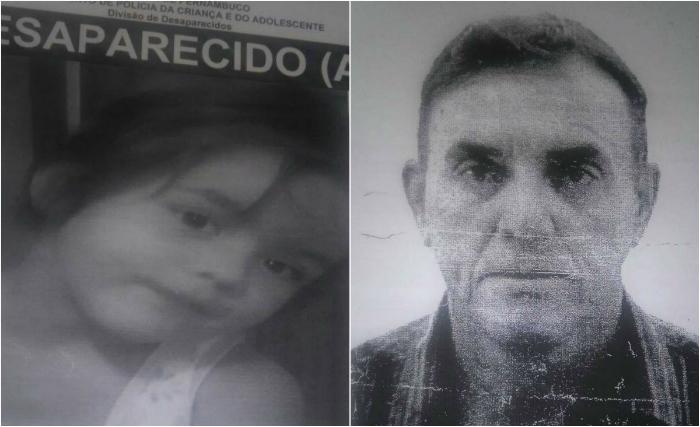 Pai e filha foram vistos pela última vez em uma praça em Joinville, Santa Catarina, em janeiro de 2016. Foto: DPCA/Divulgação (Pai e filha foram vistos pela última vez em uma praça em Joinville, Santa Catarina, em janeiro de 2016. Foto: DPCA/Divulgação)