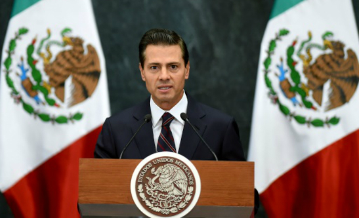 O presidente mexicano, Enrique Peña Nieto, na Cidade do México. Foto: Alfredo Estrella/AFP Photo (O presidente mexicano, Enrique Peña Nieto, na Cidade do México. Foto: Alfredo Estrella/AFP Photo)