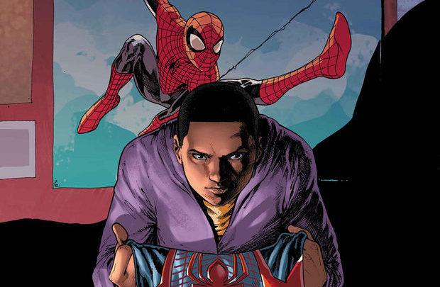 Miles Morales é veste o manto de Homem-Aranha, que não é mais exclusividade de Peter Parker. Foto: Marvel/Divulgação