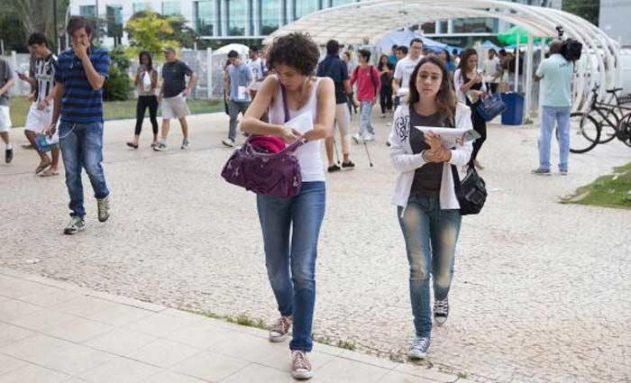 Brasília - Em dezembro, cerca de 6 milhões de estudantes fizeram as provas do Exame Nacional do Ensino Médio em todo país. Foto: Marcello Casal/Agência Brasil