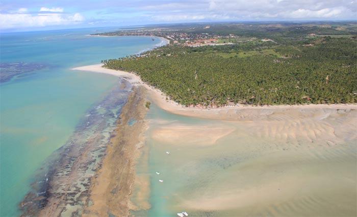 O projeto TerraMar busca promover a proteção e a gestão integrada da biodiversidade marinha e costeira da região. Foto: Divulgação