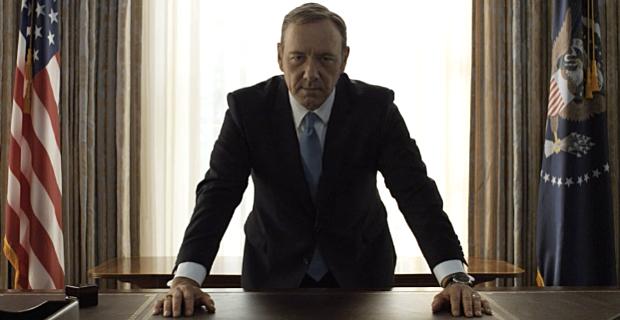 Kevin Spacey volta como o presidente dos Estados Unidos na série. Foto: Netflix/Divulgação