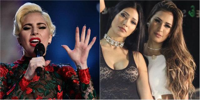 Lady Gaga, que cantou o hino dos EUA no ano passado, retorna ao Super Bowl. Fotos: Martin Bureau e Facebook/Reprodução