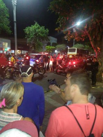 Crime aconteceu no início da noite. Foto: WhatsApp/Cortesia (Crime aconteceu no início da noite. Foto: WhatsApp/Cortesia)