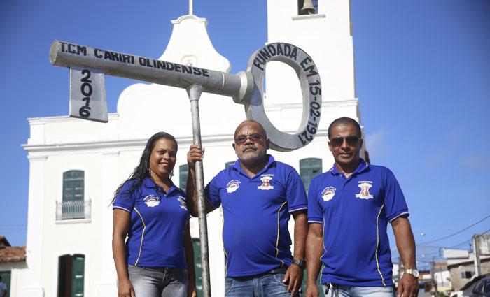 Diretores do Cariri prometem uma festa muito animada. Foto: Anderson Freire/Esp DP