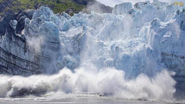 No total, a cobertura de gelo chegou a apenas 13,3 milhões de quilômetros quadrados para o Polo Norte - Foto: Wikimediacommons
