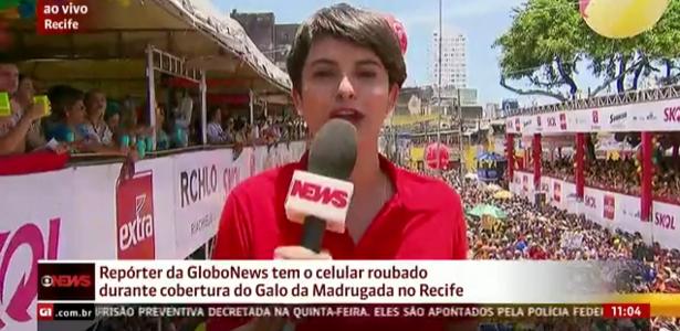 Resultado de imagem para reporter wanessa andrade da globo news