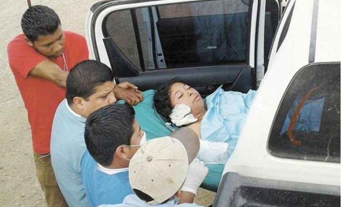 Vilma Trujillo García, 25 anos, morreu, na madrugada, de falência múltipla de órgãos, com queimaduras em 80% do corpo. Foto: H. Jarquin/LaPrensa/Cortesia