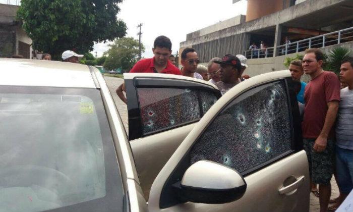 O motorista do veículo morreu no local. Foto: WhatsApp/Cortesia