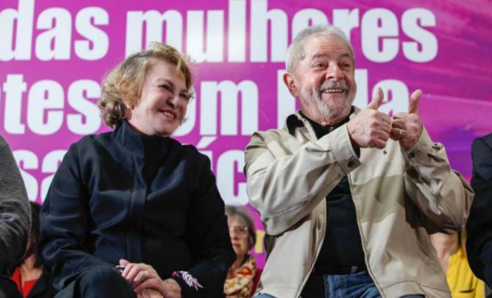 Assim como na ação anterior, a defesa da mulher de Lula havia pedido a absolvição sumária. Foto: Heinrich Aikawa/Instituto Lula