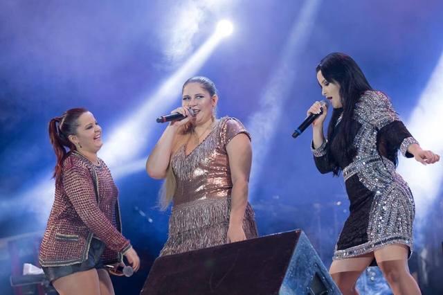 Principais vozes do sertanejo feminino atural se encontram na Festa das Patroas, em Caruaru. Foto: Randes Filho/Divulgação