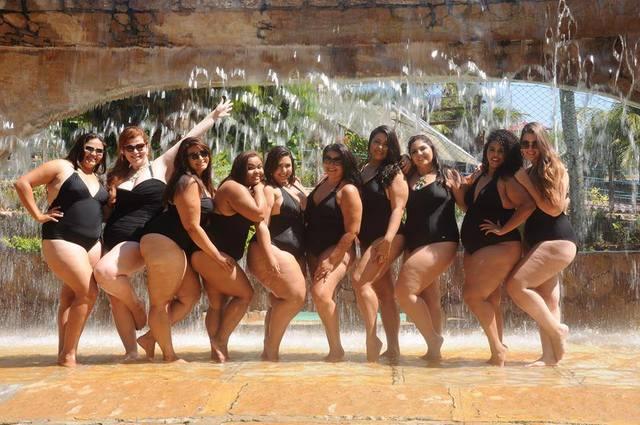 Candidatas ao Miss Plus Size Ceará da edição 2016. Foto: Reprodução/Facebook