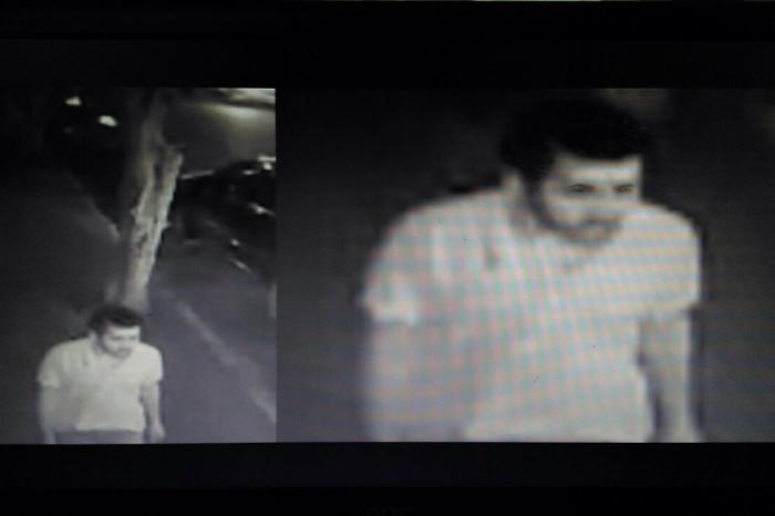 Polícia Civil divulgou imagens do assassino feitas com câmeras de videomonitoramento. Foto: Polícia Civil/Divulgação (Polícia Civil divulgou imagens do assassino feitas com câmeras de videomonitoramento. Foto: Polícia Civil/Divulgação)