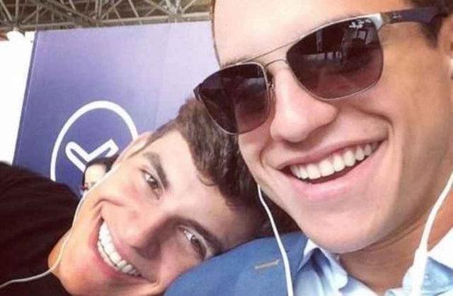 Irmãos gêmeos compartilharam imagens da viagem nas redes sociais. Foto: Instagram/Reprodução