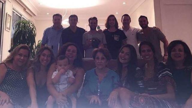 Kayke Almeida resgatou último natal, quando a sister passou ao feriado ao lado de sua família. Foto: Instagram/Reprodução