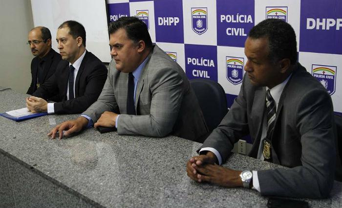 De acordo com o chefe de polícia Joselito Kehrle do Amaral, os homens fariam parte de uma quadrilha com atuação no Vasco da Gama. Foto: Júlio Jacobina/ DP