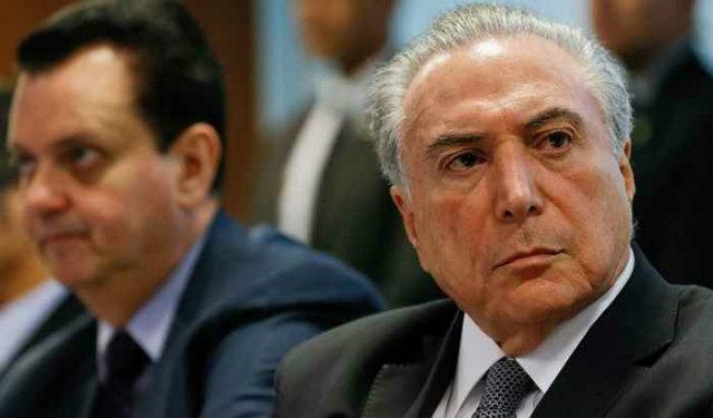 Michel Temer em reunião com líderes empresarias. Foto: Beto Prata/PR