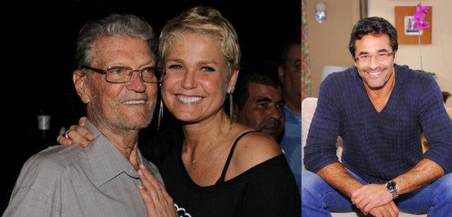 Luiz estava internado no Hospital Samaritano da Barra, no Rio de Janeiro, desde o dia 4 de fevereiro. Fotos: Instagram/Reprodução e Record/Divulgação