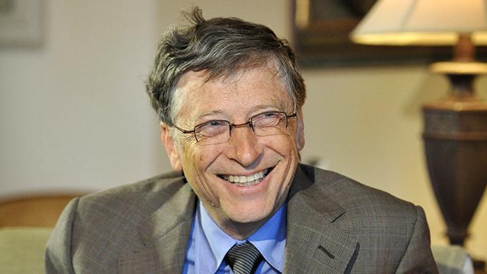 Gates, que iniciou a Microsoft aos 19 anos, abandonou os estudos no segundo ano da Universidade de Harvard. Foto: Mark Graham/AFP Photo