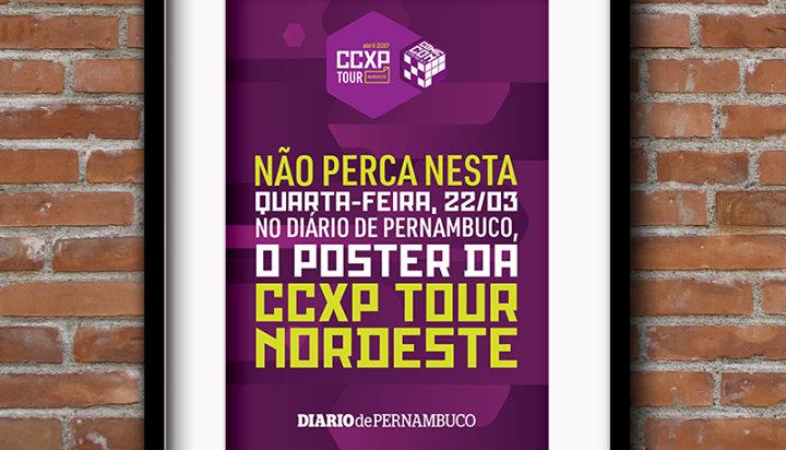 Anúncio foi feito no perfil oficial do evento nesta segunda-feira. Foto: CCXP Tour/Facebook
