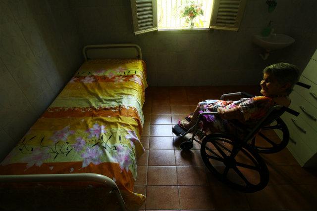 Lar recebe idosas acima de 60 anos e que não possuem família. Foto: Peu Ricardo/DP