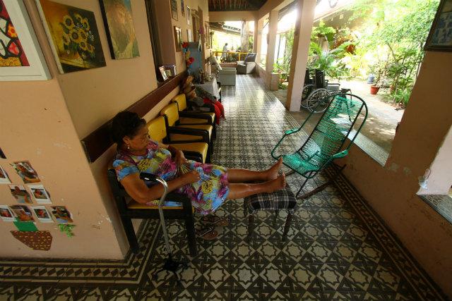 Com capacidade para 25 moradores, Casa do Amor abriga 16 idosas. Foto: Peu Ricardo/DP
