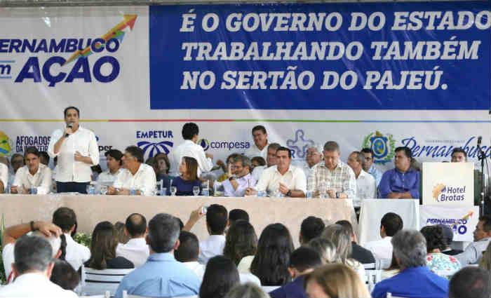 A primeira rodada do Pernambuco em Ação teve início nesta quinta-feira (23) e segue até o próximo sábado (25). Foto: Aluísio Moreira/SEI