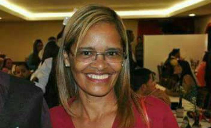 Cláudia Maria dos Santos Silva era zeladora de um prédio em Boa Viagem. Foto: Reprodução/ WhatsApp