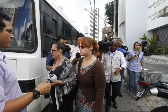 Blogueira prestou depoimento na tarde desta segunda-feira, 27. - Foto: Rafael Martins/DP