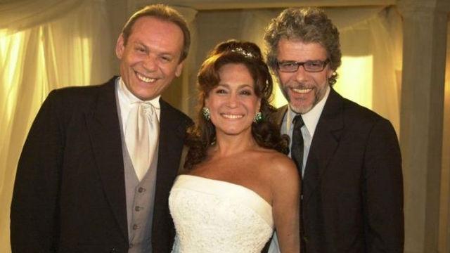 Em Senhora do destino, José Mayer viver o personagem Dirceu, par romântico da protagonista Maria do Carmo. Foto: Rede Globo/Reprodução