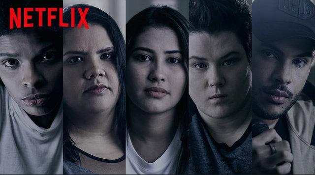 Hugo Gloss, Thayana OG, Vaneza Oliveira, Chatarina Fischer e Jaqueline Sampaio se juntaram para fazer relatos de bullying. Foto: Facebook/Reprodução