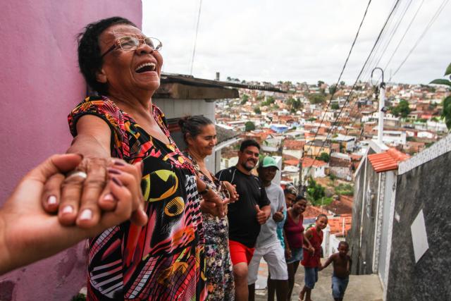 União de moradores transformou o Morro da Conceição de lugar sem água e pavimentação em comunidade referência do Recife. Crédito: Paulo Paiva/DP (Crédito: Paulo Paiva/DP)