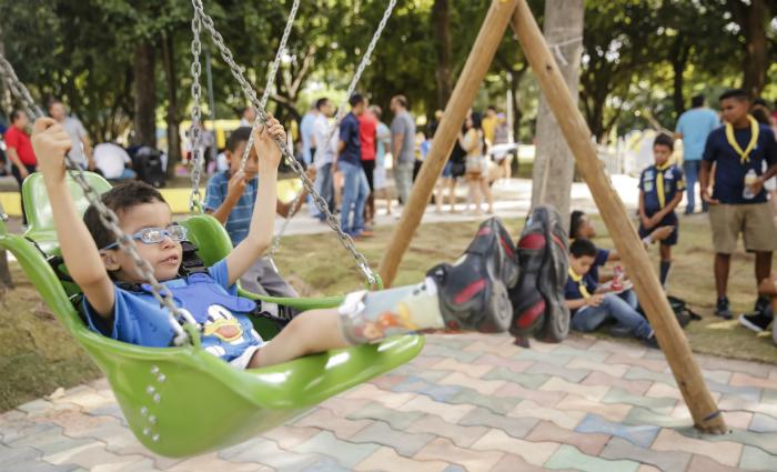 Santana tem parque totalmente inclusivo local diario de - Parque infantil casa ...